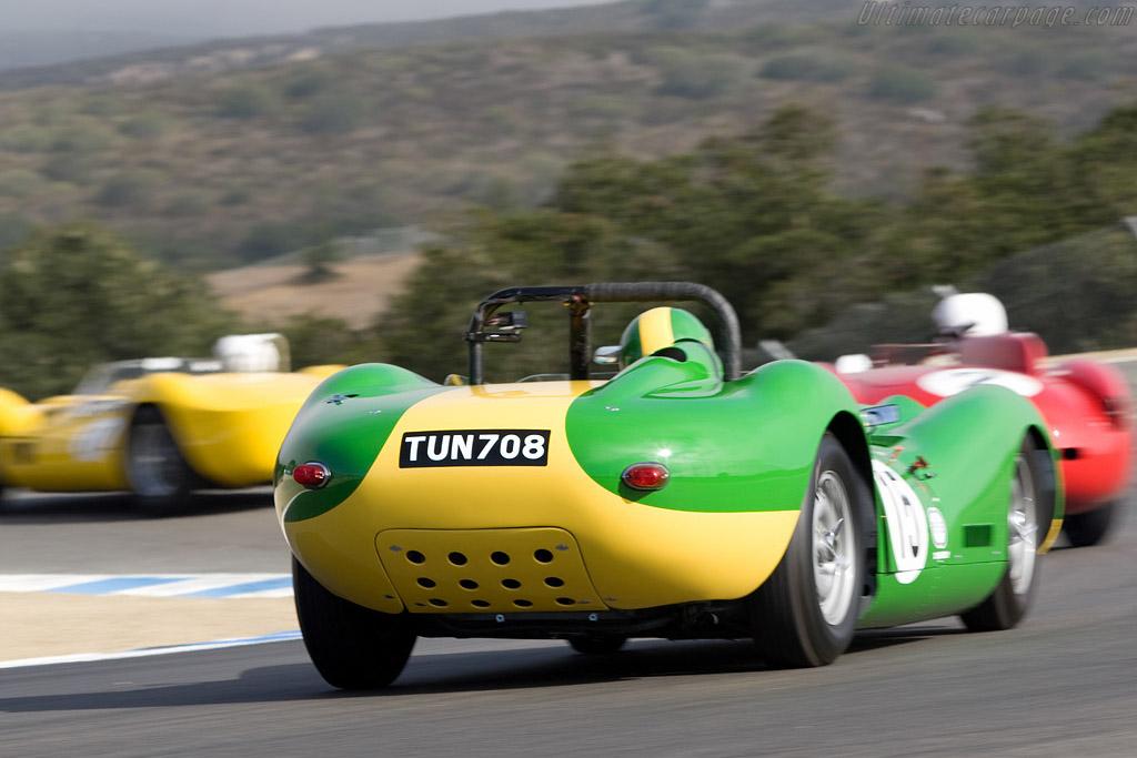 Lister Jaguar    - 2008 Monterey Historic Automobile Races
