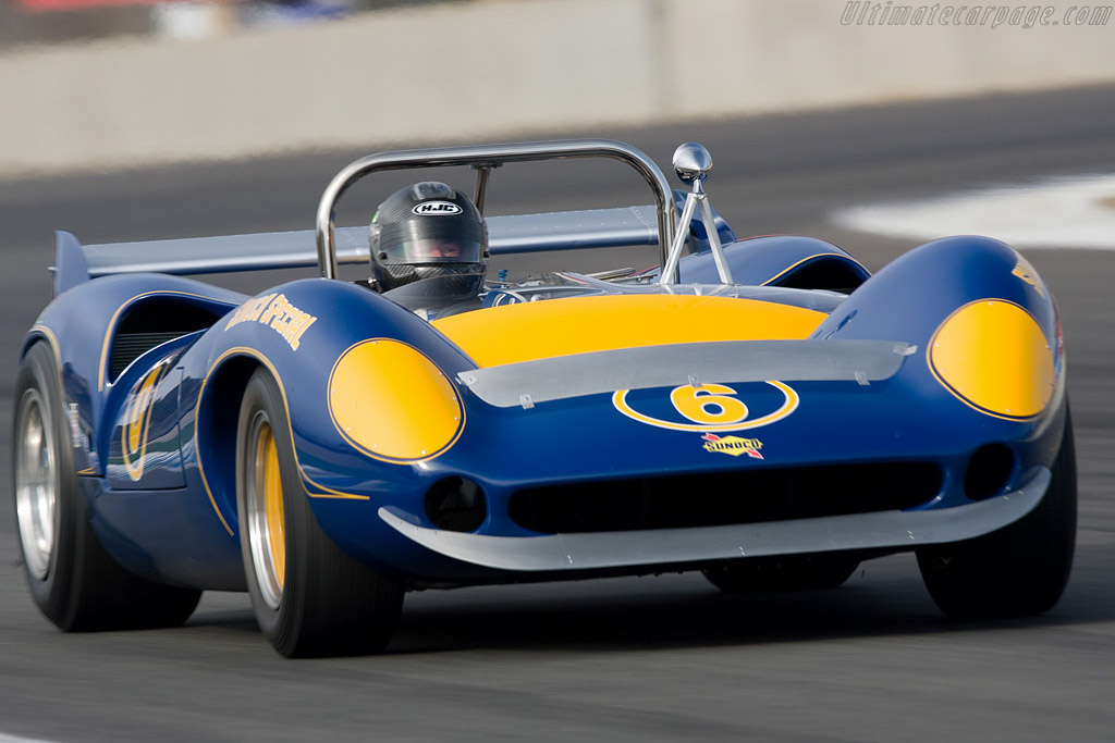Lola T70 Mk II Spyder - Chassis: SL71/47   - 2008 Monterey Historic Automobile Races