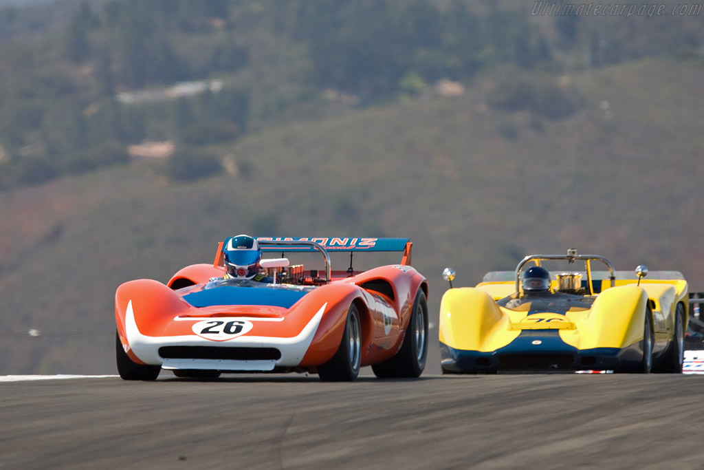 Lola T70 Mk III - Chassis: SL73/129   - 2008 Monterey Historic Automobile Races