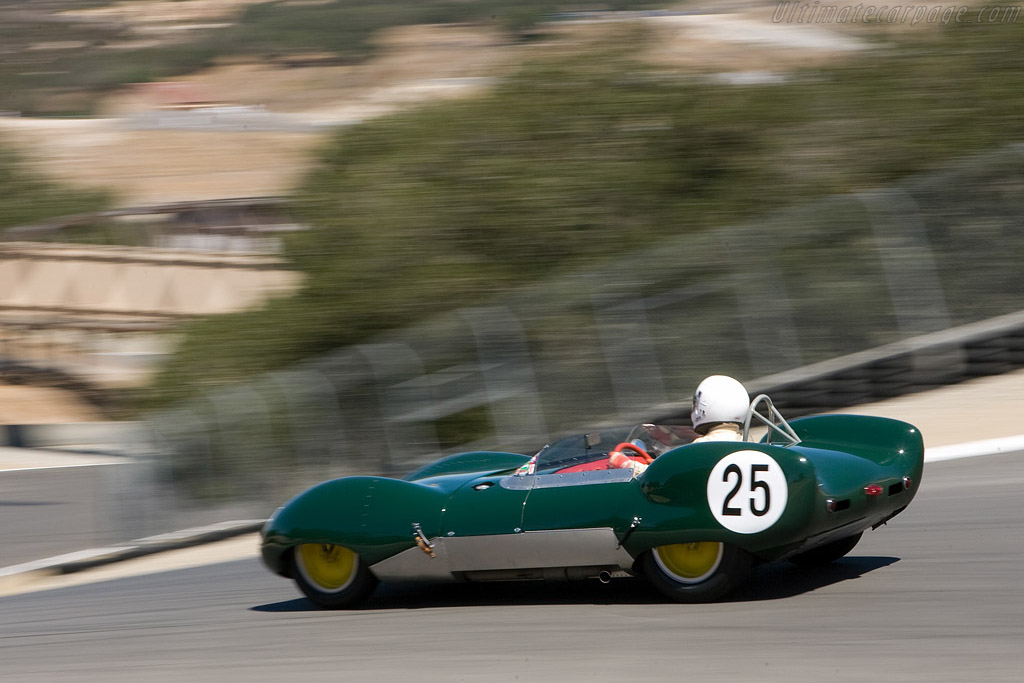 Lotus 11    - 2008 Monterey Historic Automobile Races