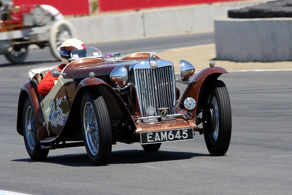 MG TC    - 2008 Monterey Historic Automobile Races