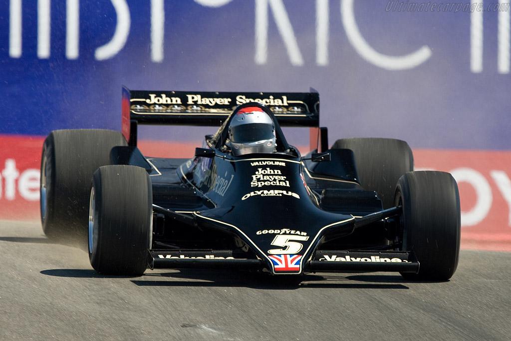 Mario Andretti in his old Lotus 79 - Chassis: 79/4 - Driver: Mario Andretti  - 2008 Monterey Historic Automobile Races