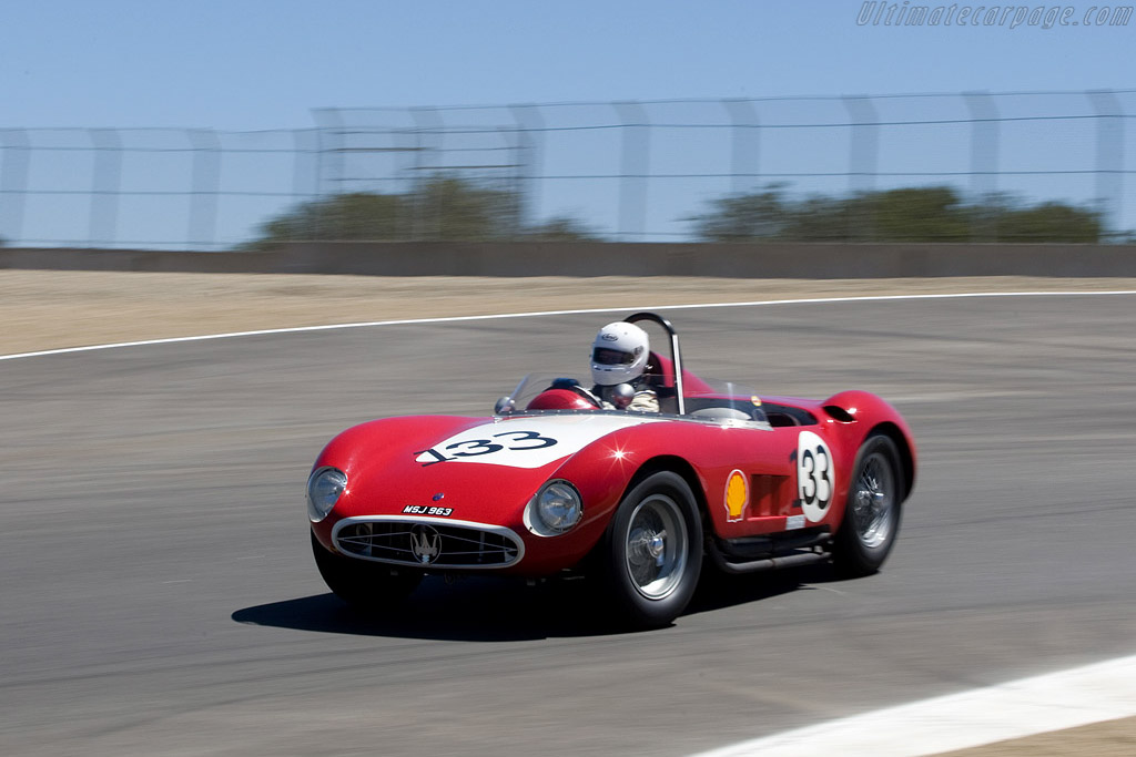 Maserati 300S - Chassis: 3057   - 2008 Monterey Historic Automobile Races