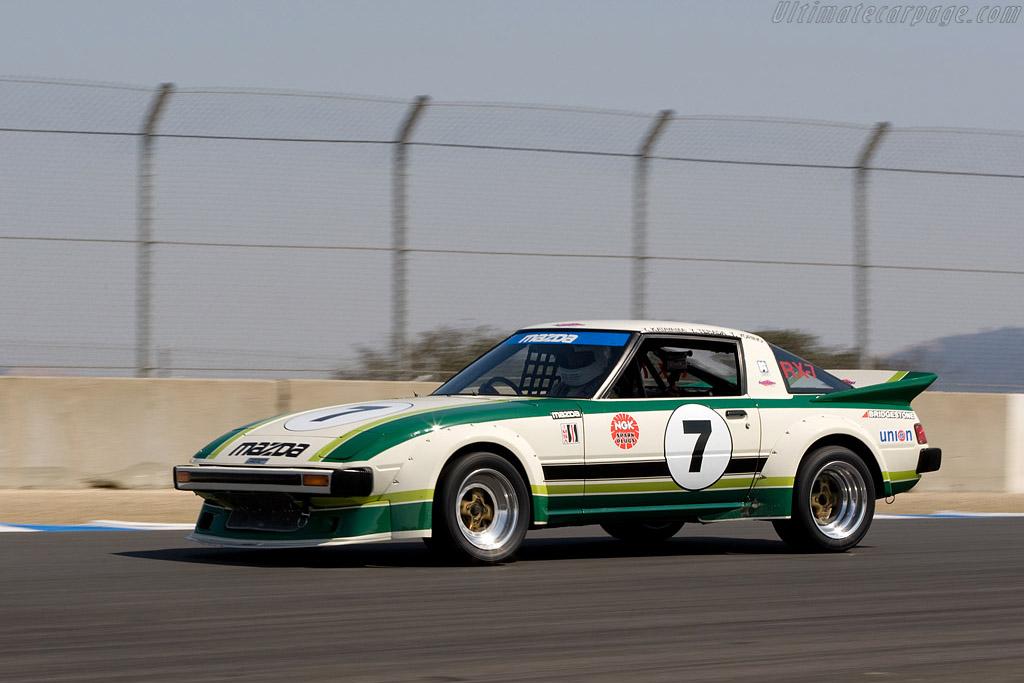 Mazda RX-7 IMSA    - 2008 Monterey Historic Automobile Races