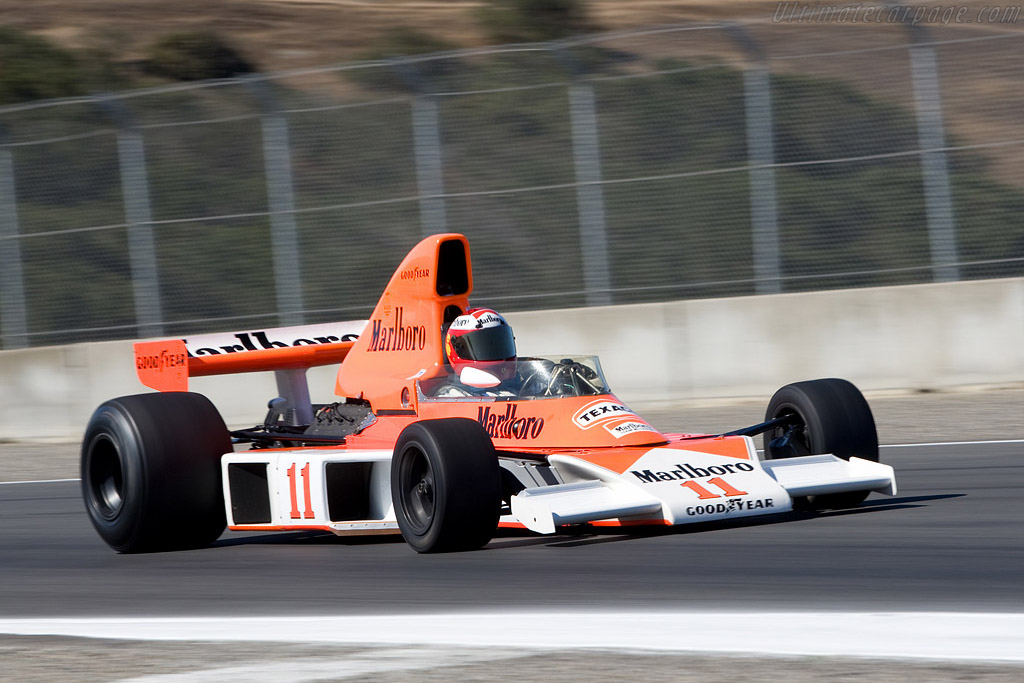 McLaren M23 - Chassis: M23-9   - 2008 Monterey Historic Automobile Races