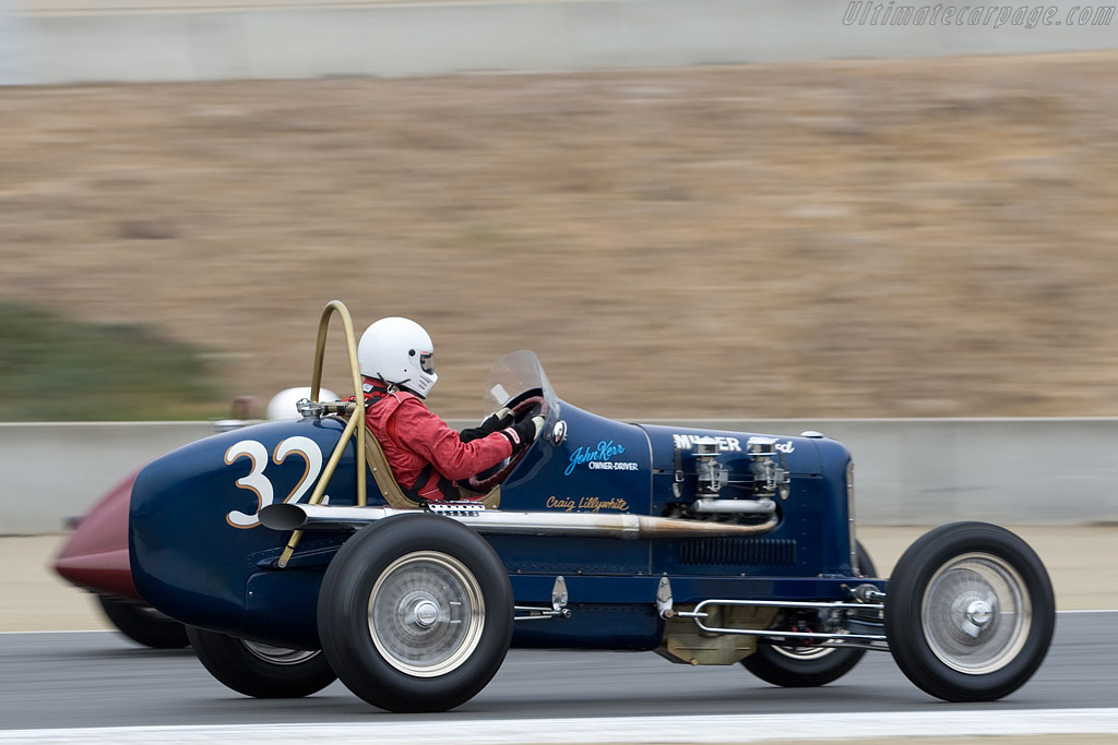 Miller Scofield Ford    - 2008 Monterey Historic Automobile Races