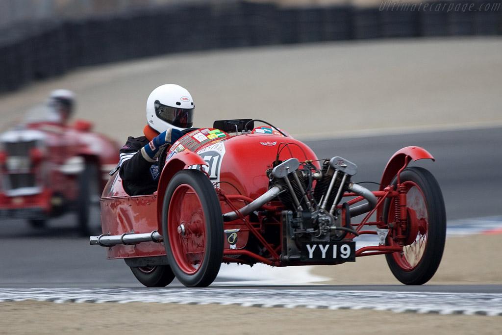 Morgan Super Aero    - 2008 Monterey Historic Automobile Races