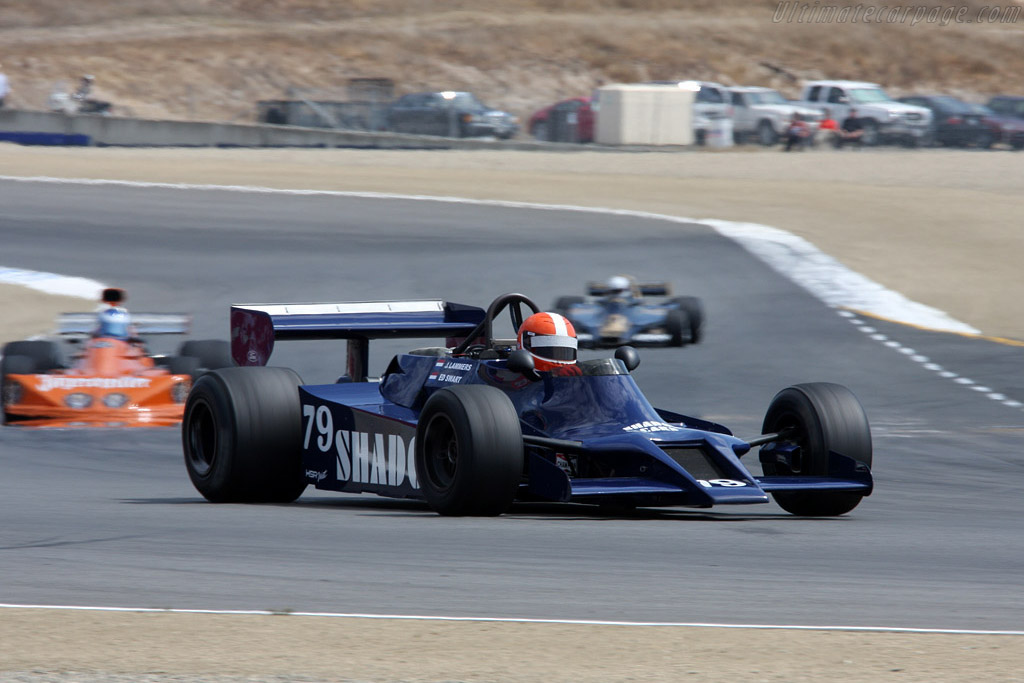 Shadow DN9B Cosworth - Chassis: DN9/3B   - 2008 Monterey Historic Automobile Races