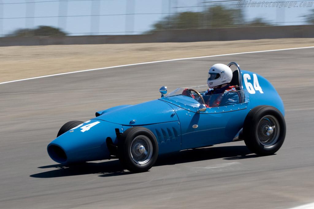 Stanguellini F-Jr    - 2008 Monterey Historic Automobile Races