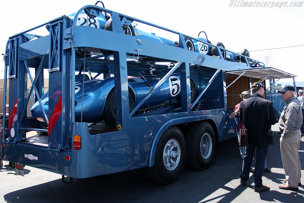 The Scarab transporter    - 2008 Monterey Historic Automobile Races