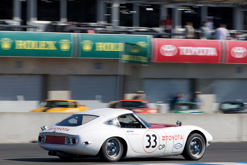 Toyota 2000 GT    - 2008 Monterey Historic Automobile Races