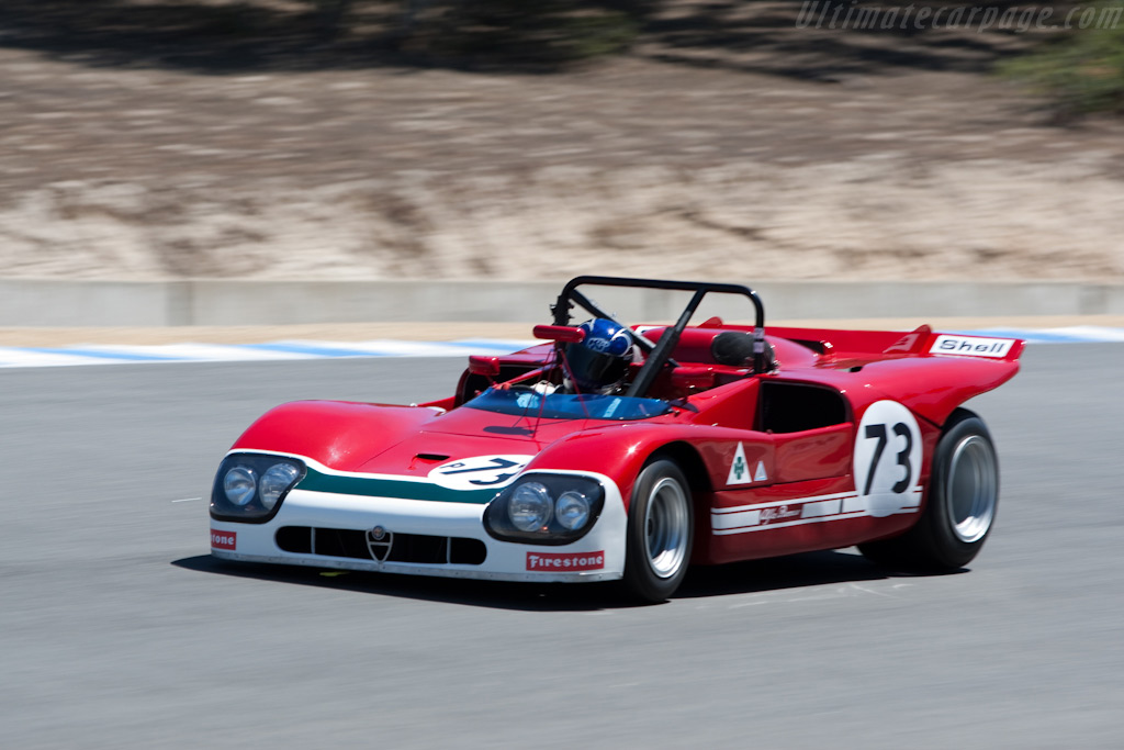 Alfa Romeo T33/3    - 2009 Monterey Historic Automobile Races