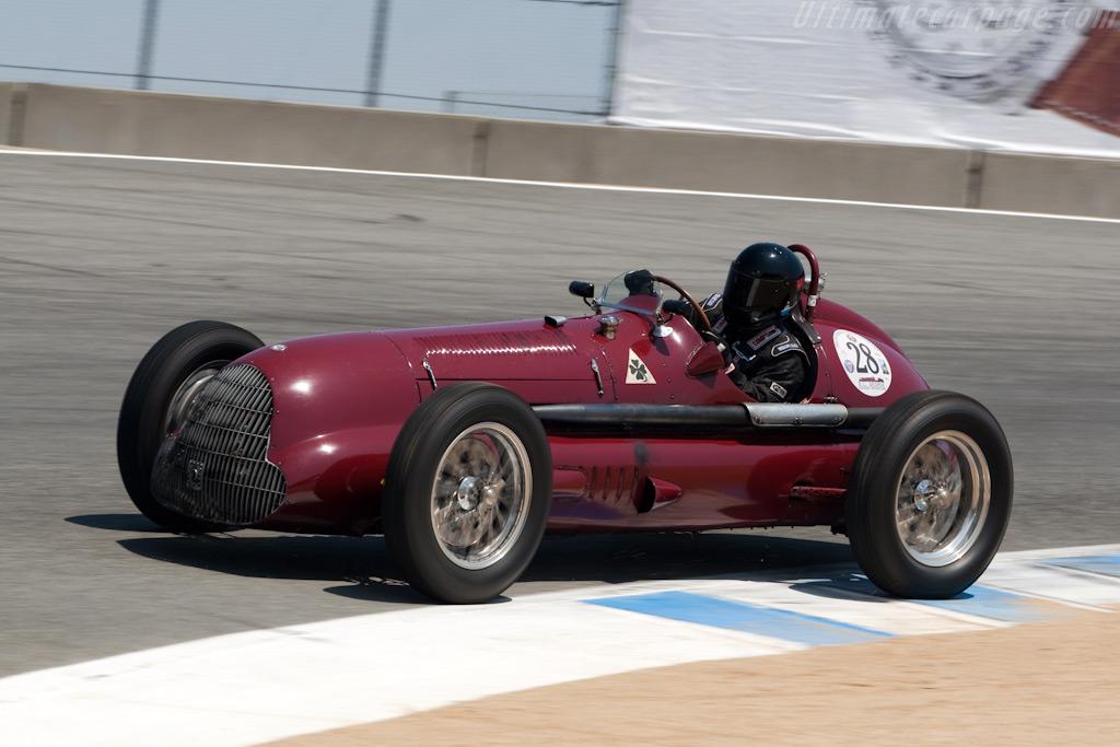 Alfa Romeo Volpi Special    - 2009 Monterey Historic Automobile Races