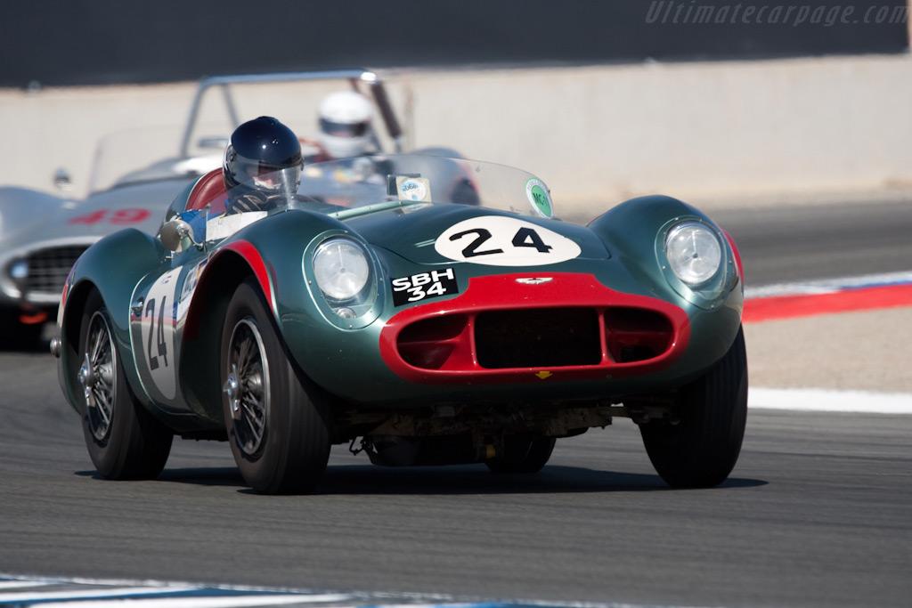 Aston Martin DB3S    - 2009 Monterey Historic Automobile Races