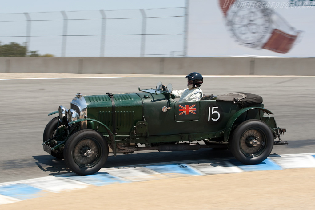 Bentley 4 1/2 Litre    - 2009 Monterey Historic Automobile Races