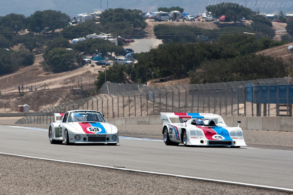 Brumos Porsche    - 2009 Monterey Historic Automobile Races