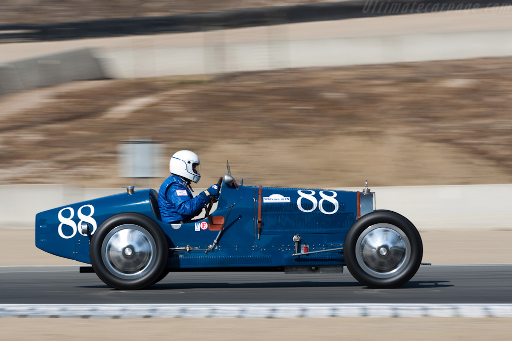 Bugatti Type 35A    - 2009 Monterey Historic Automobile Races