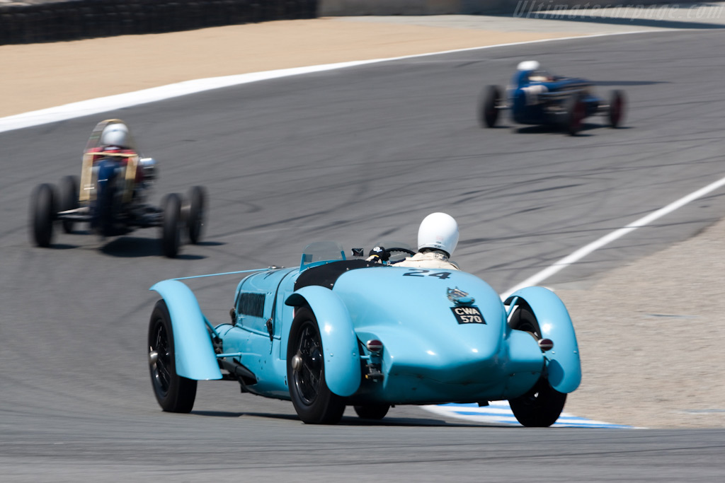 Delahaye 135S - Chassis: 47186   - 2009 Monterey Historic Automobile Races
