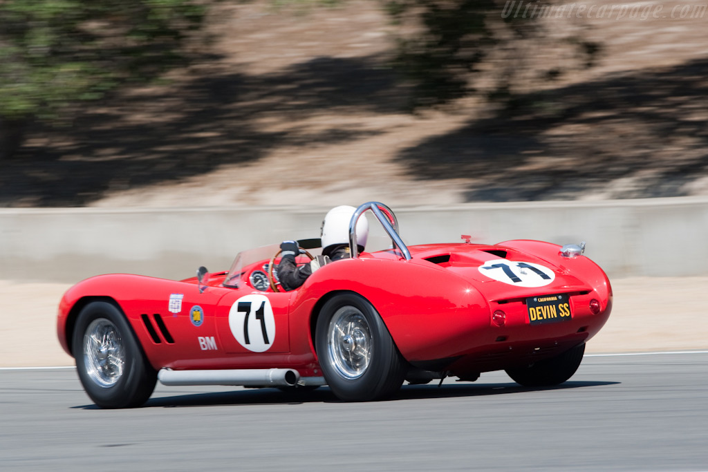 Devin SS - Chassis: SR1-3   - 2009 Monterey Historic Automobile Races