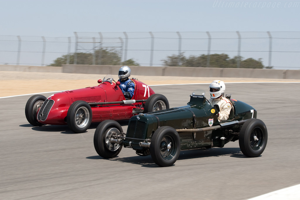 ERA R2A & Maserati 4CL - Chassis: R2A   - 2009 Monterey Historic Automobile Races