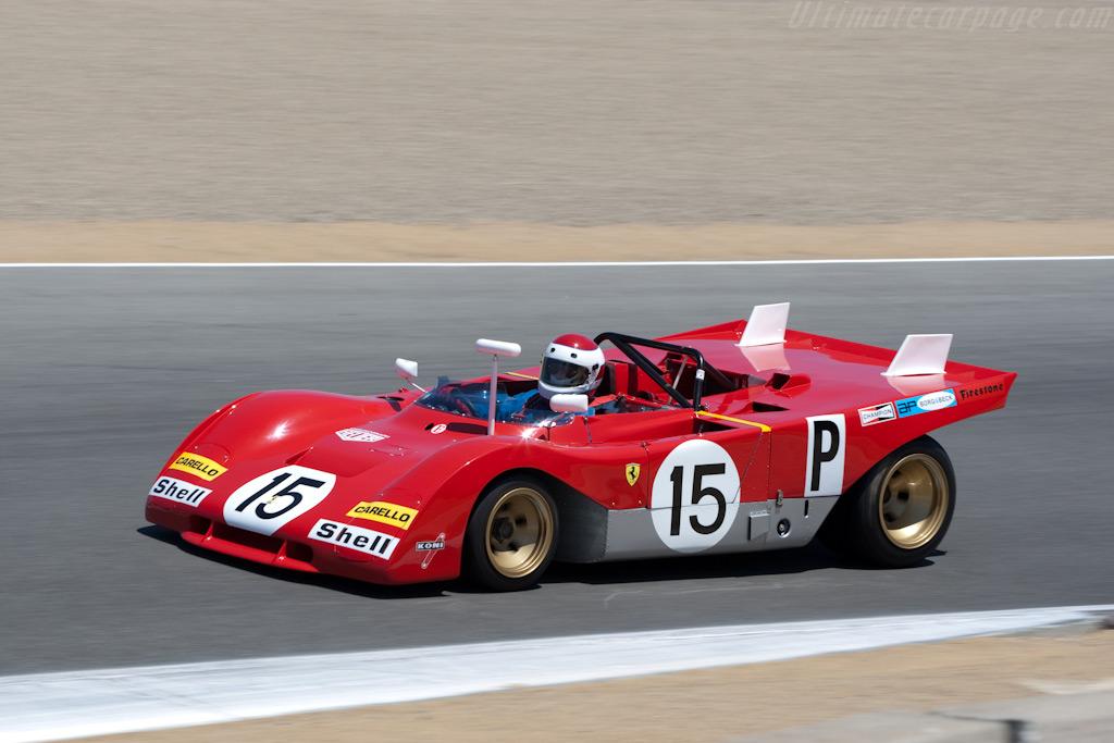 Ferrari 312 PB - Chassis: 0880 - Driver: Ernie Prisbe  - 2009 Monterey Historic Automobile Races