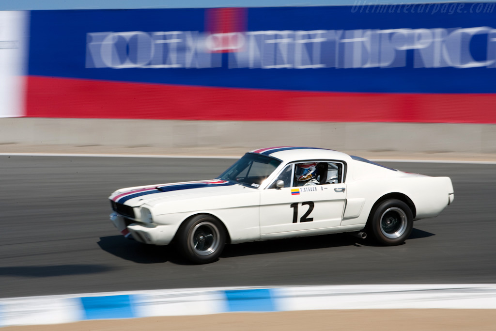 Ford Shelby Mustang GT350    - 2009 Monterey Historic Automobile Races