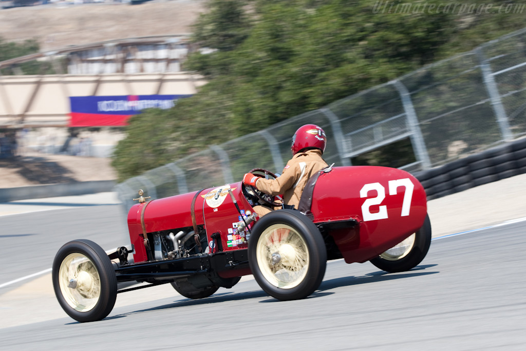 Ford T Barber Warnock Special    - 2009 Monterey Historic Automobile Races