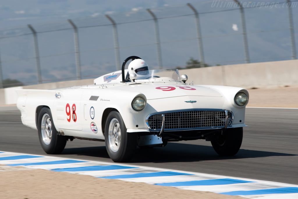 Ford Thunderbird    - 2009 Monterey Historic Automobile Races