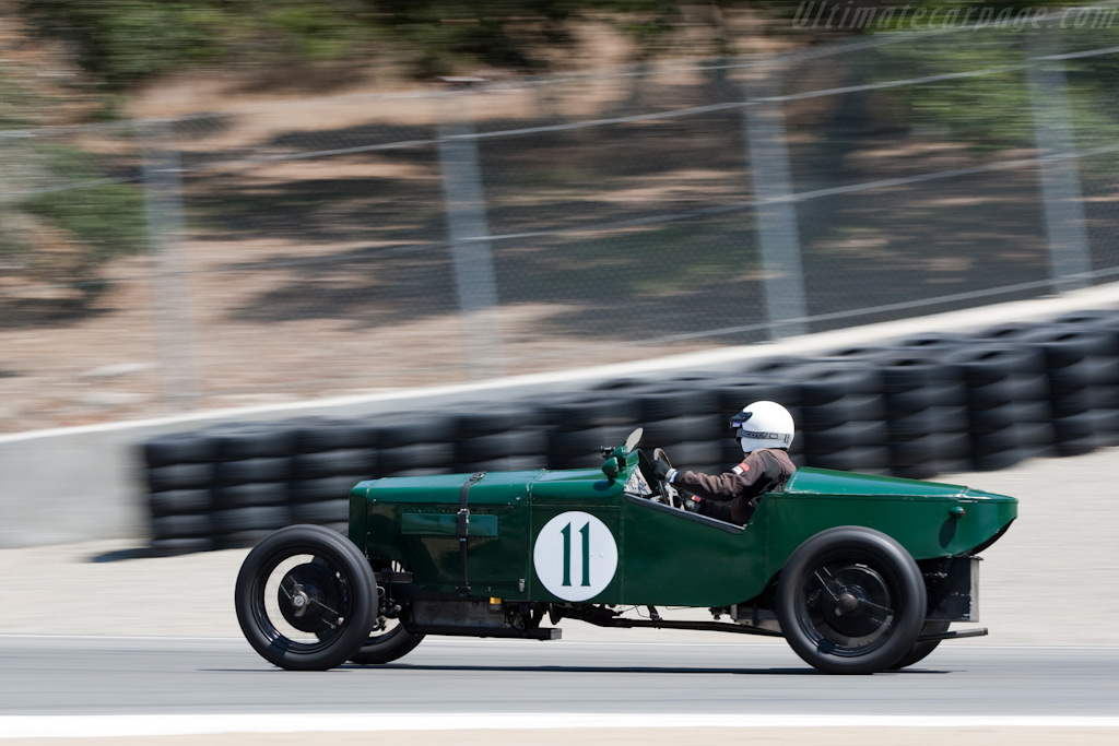 Frazer Nash Boulogne    - 2009 Monterey Historic Automobile Races
