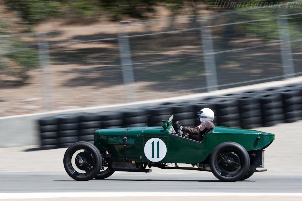 Frazer Nash Boulogne    - 2009 Monterey Historic Automobile Races