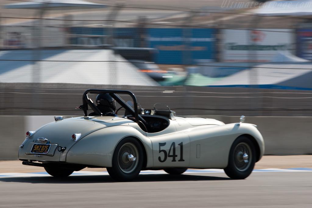 Jaguar XK120 SE    - 2009 Monterey Historic Automobile Races