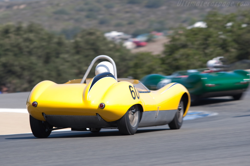 Lola Mk1    - 2009 Monterey Historic Automobile Races