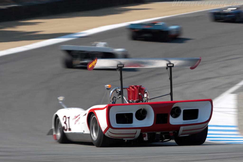Lola T163 - Chassis: SL163/18 - Driver: Daniel Lipetz  - 2009 Monterey Historic Automobile Races