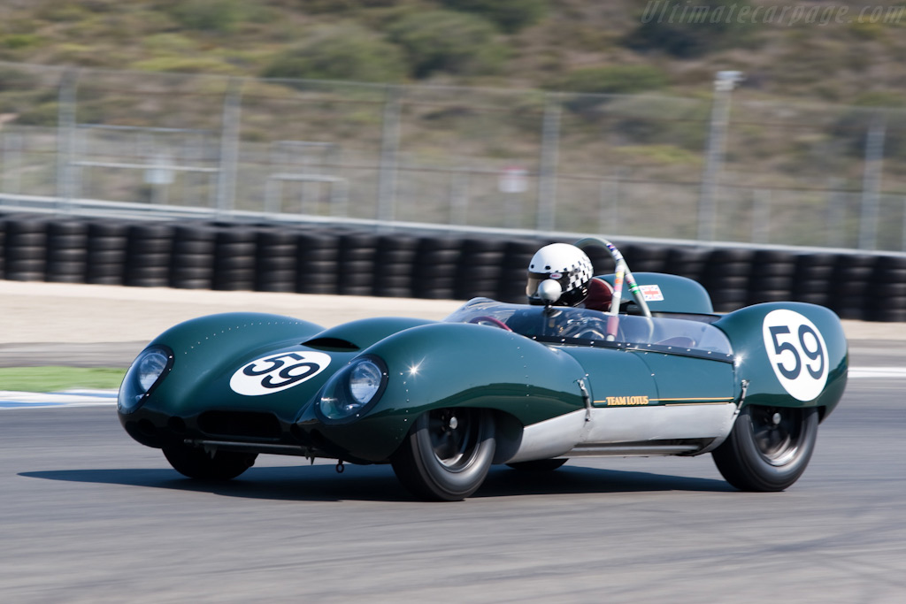 Lotus 15 - Chassis: 602/1 - Driver: Don Orosco  - 2009 Monterey Historic Automobile Races