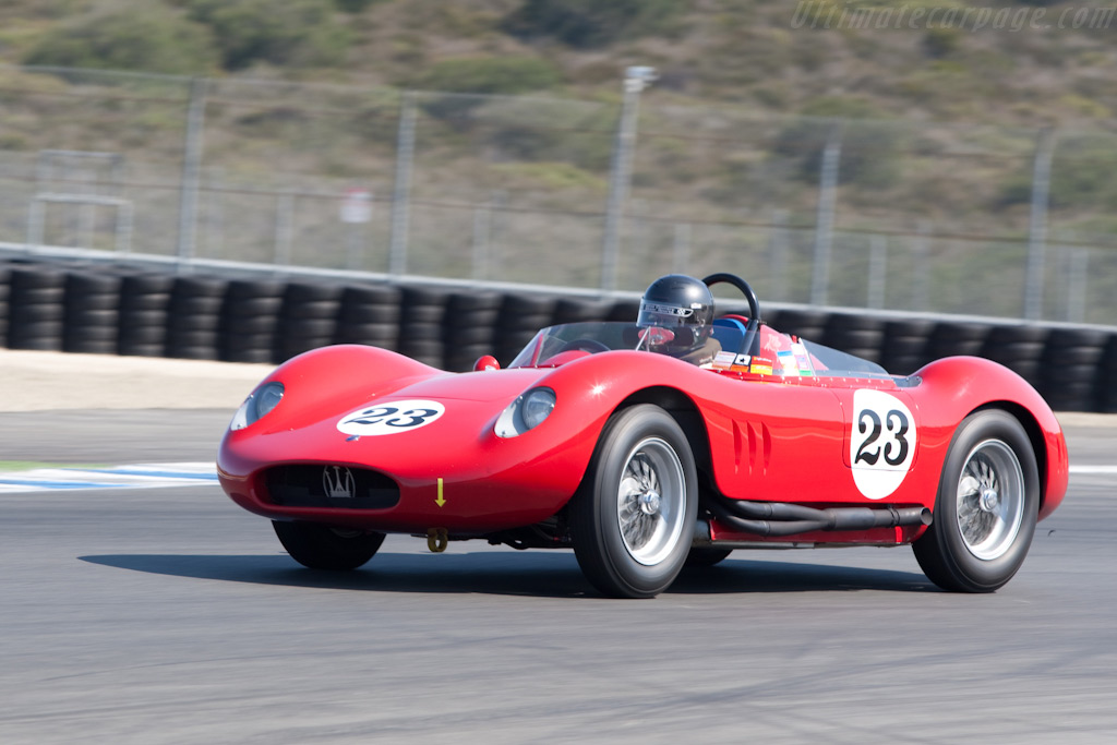 Maserati 250 SI - Chassis: 2423   - 2009 Monterey Historic Automobile Races