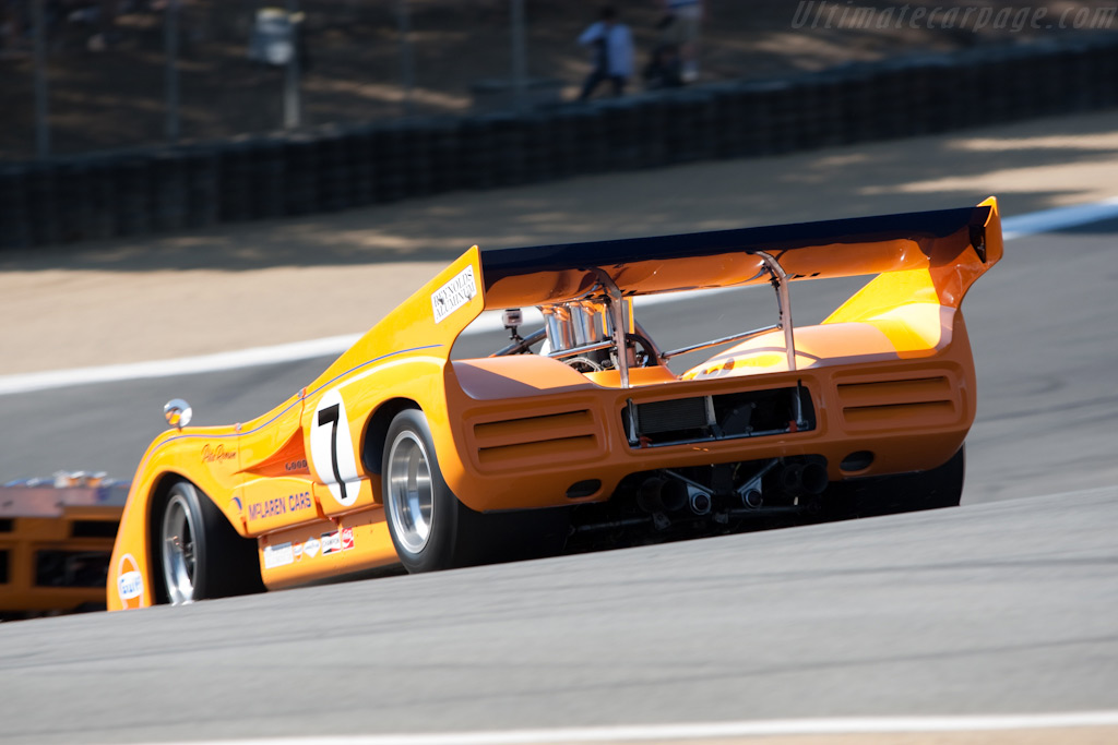 McLaren M8F    - 2009 Monterey Historic Automobile Races