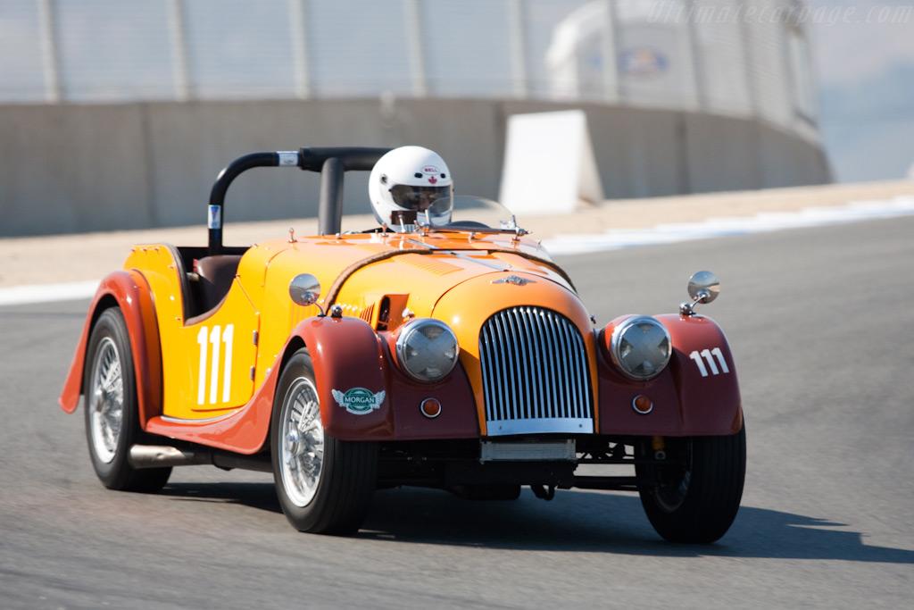 Morgan +4    - 2009 Monterey Historic Automobile Races