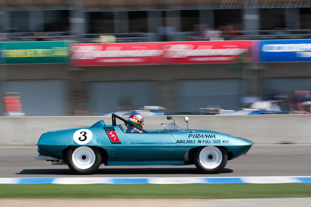 Piranha Sports Racer    - 2009 Monterey Historic Automobile Races
