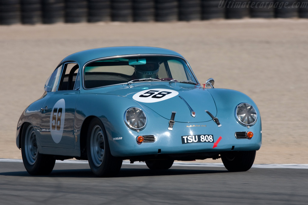 Porsche 356 Carrera   - 2009 Monterey Historic Automobile Races