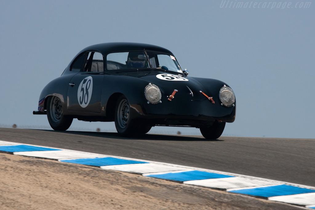 Porsche 356 Coupe    - 2009 Monterey Historic Automobile Races