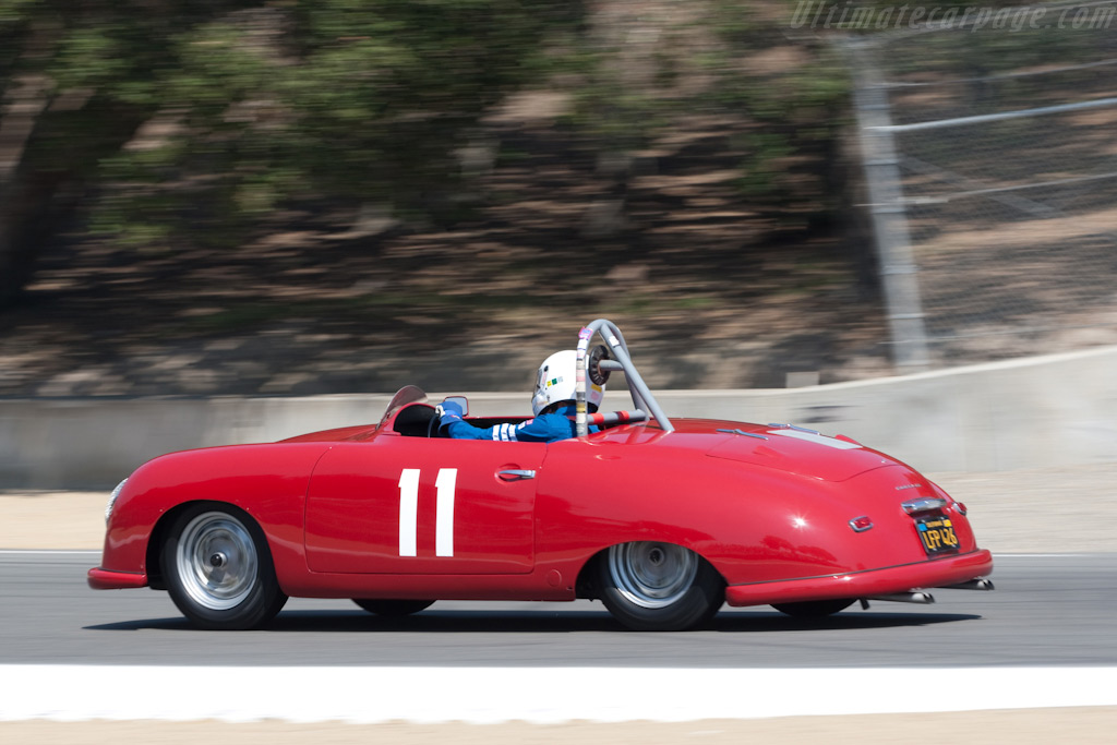 Porsche 356 SL    - 2009 Monterey Historic Automobile Races