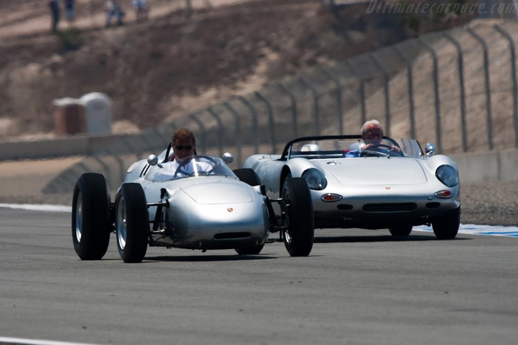 Porsche 718/2 F2    - 2009 Monterey Historic Automobile Races