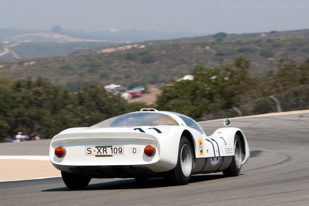 Porsche 906    - 2009 Monterey Historic Automobile Races