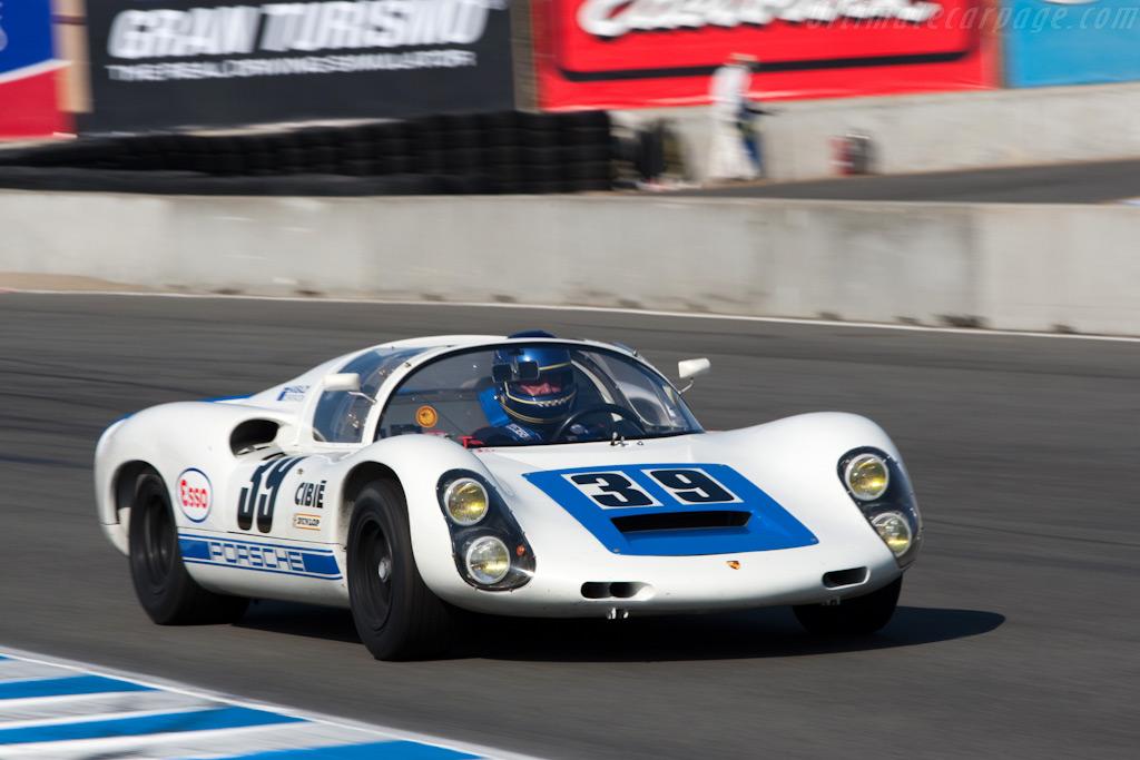 Porsche 910    - 2009 Monterey Historic Automobile Races