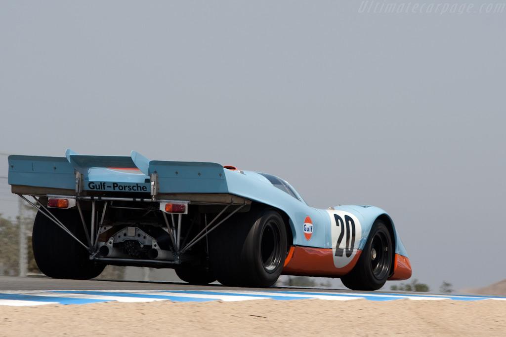 Porsche 917K - Chassis: 917-022 - Driver: Jerry Seinfeld  - 2009 Monterey Historic Automobile Races