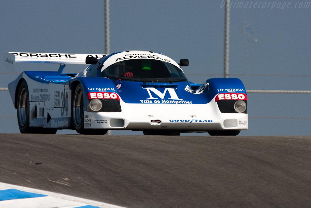 Porsche 962C - Chassis: 962-110 T2   - 2009 Monterey Historic Automobile Races
