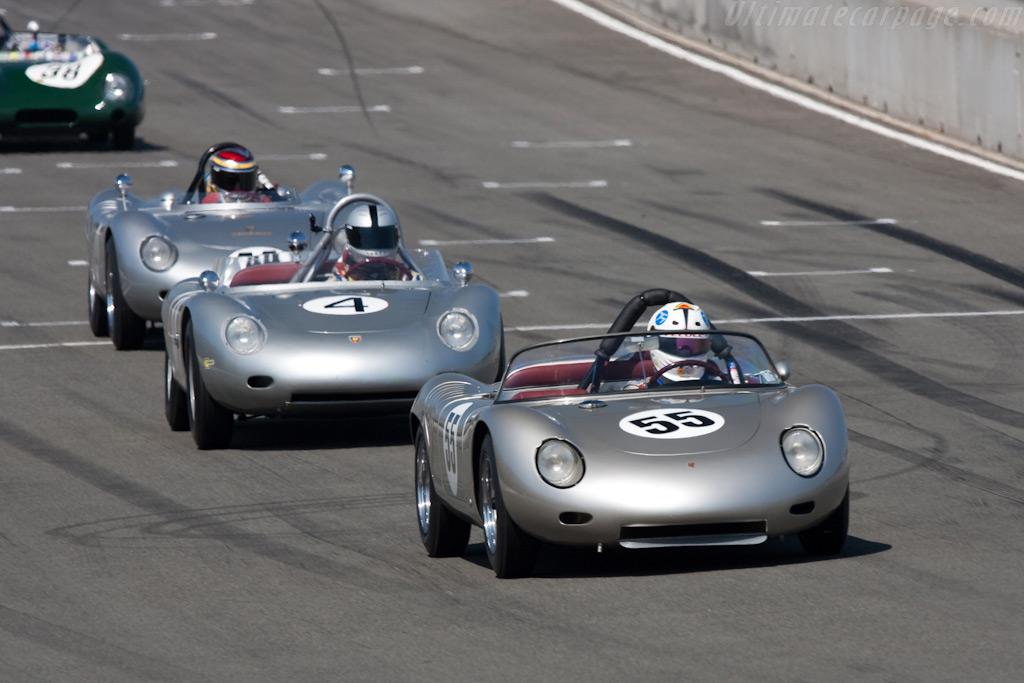 Porsches    - 2009 Monterey Historic Automobile Races