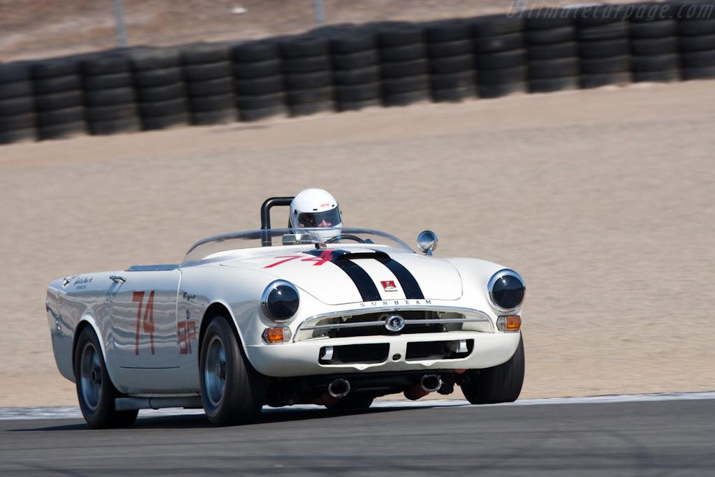 Sunbeam Tiger    - 2009 Monterey Historic Automobile Races
