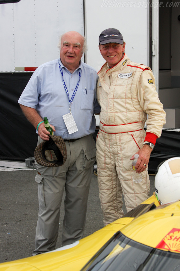 Team mates in 1970: David Piper and Gijs van Lennep    - 2009 Monterey Historic Automobile Races