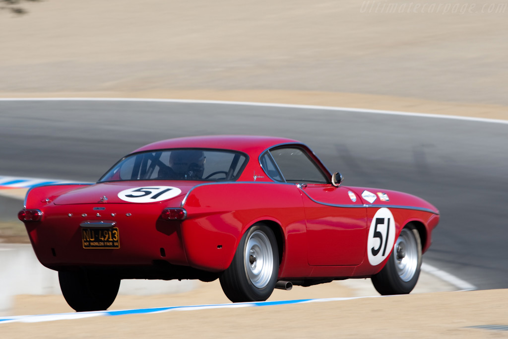 Volvo P1800A    - 2009 Monterey Historic Automobile Races